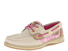 Sperry Top-Sider - Bluefish 2-Eye (Oat/Purple Dot (Sequins)) - Footwear