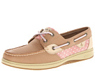 Sperry Top-Sider - Bluefish 2-Eye (Linen/Pink Chambray Dot) - Footwear
