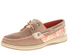 Sperry Top-Sider - Bluefish 2-Eye (Greige/Orang eDot (Sequins)) - Footwear