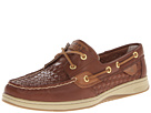 Sperry Top-Sider - Bluefish 2-Eye (Papaya Woven) - Footwear