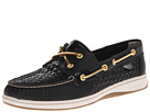 Sperry Top-Sider - Bluefish 2-Eye (Black Woven) - Footwear