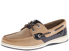 Sperry Top-Sider - Bluefish 2-Eye (Linen/Pink Sporty Mesh) - Footwear