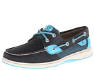 Sperry Top-Sider - Bluefish 2-Eye (Navy/Turquoise Sporty Mesh) - Footwear