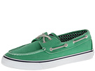 Sperry Top-Sider - Bahama 2-Eye (Green Canvas) - Footwear