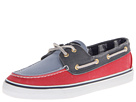 Sperry Top-Sider - Bahama 2-Eye (Red/Blue/Navy) - Footwear