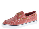 Sperry Top-Sider - Bahama 2-Eye (Washed Red Whale Critter) - Footwear