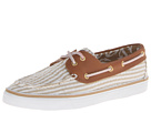 Sperry Top-Sider - Bahama 2-Eye (Sand Seersucker/Cognac) - Footwear