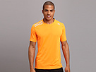 adidas - Clima Chill S/S Tee (Solar Zest/Night Shade) - Apparel