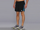 adidas - Response 5 Short (Black/Solar Blue) - Apparel