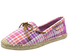 Sperry Top-Sider - Katama (Pink Plaid) - Footwear