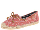 Sperry Top-Sider - Katama (Washed Red/Whale) - Footwear