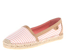 Sperry Top-Sider - Danica (Coral/White Seersucker) - Footwear