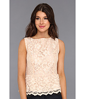 Michael Stars - Scallop Lace Tank With Peplum