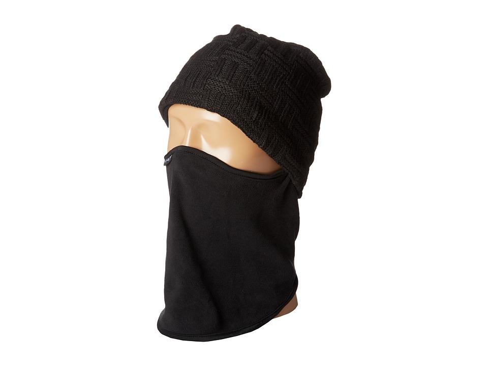 Seirus Quick Clava Clem Black Caps