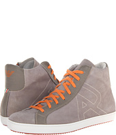 Armani Jeans - Washed Leather High Top