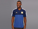adidas - Argentina Away Replica Tee (Pride Ink/Colligate Navy/White) - Apparel