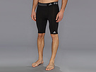 adidas - TECHFIT Base 9 Short Tight (Black)