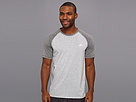 adidas - Ultimate Raglan Short-Sleeve Tee (Medium Grey Heather/Dark Grey Heather)