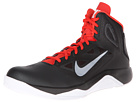 Nike - Dual Fusion BB II (Black/White/Light Crimson/Metallic Platinum)