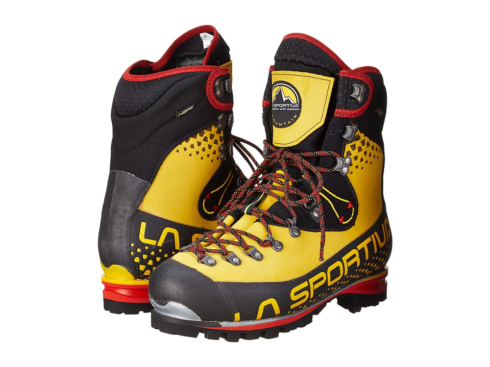 La Sportiva Nepal Cube GTX Yellow Mens Climbing Shoes