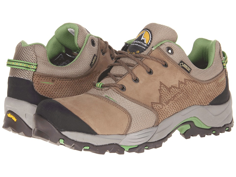 La Sportiva FC Eco 2.0 GTX Brown/Green Mens Hiking Boots