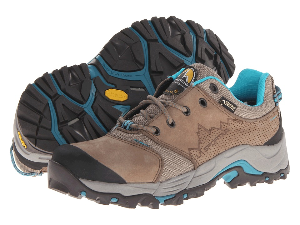 La Sportiva FC Eco 2.0 GTX Brown/Sea Blue Womens Shoes
