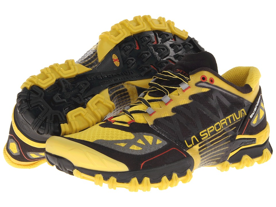 La Sportiva Bushido Yellow/Black Mens Running Shoes