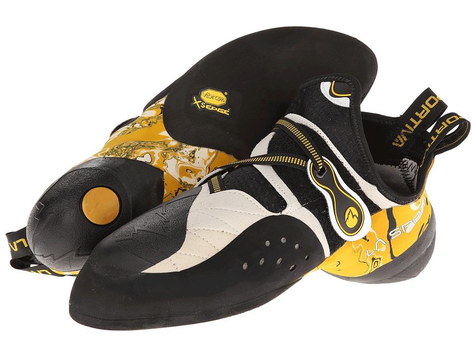 La Sportiva Solution (White/Yellow) Men's Shoes