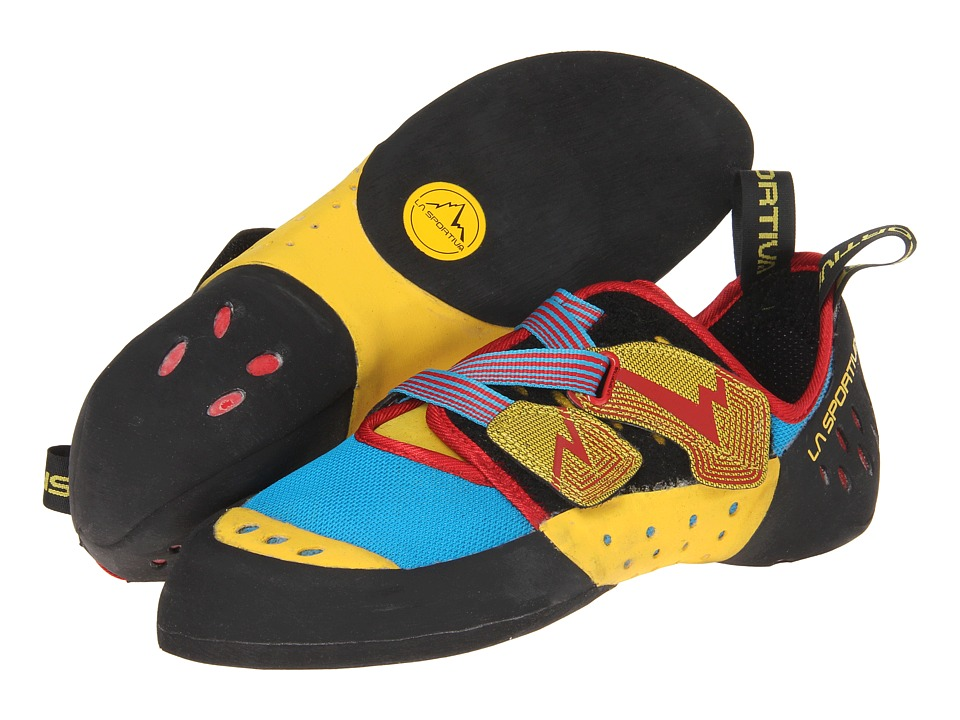 La Sportiva Oxygym Blue/Red Mens Climbing Shoes