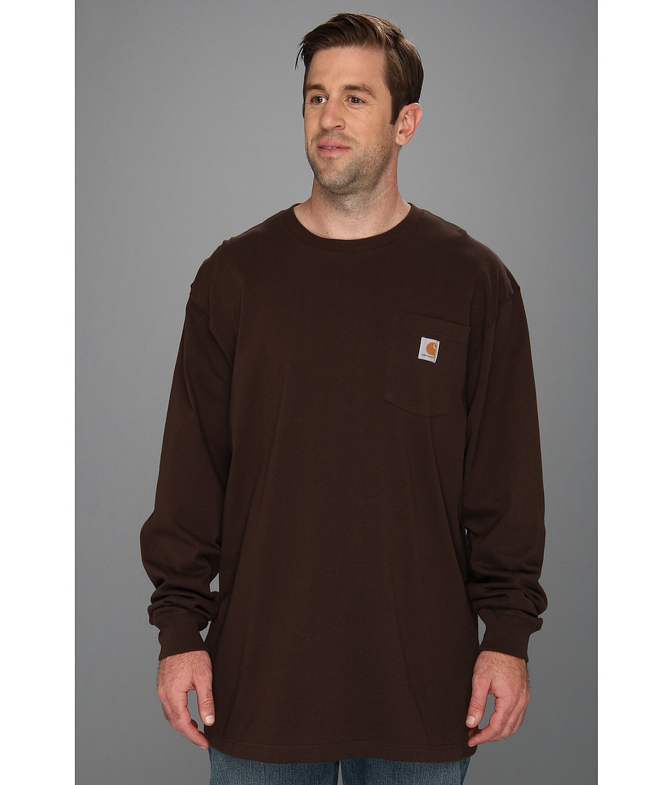 Carhartt - Big Tall Workwear Pocket L/S Tee