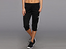 adidas - Condivo 14 Three-Quarter Pant (Black/White) - Apparel