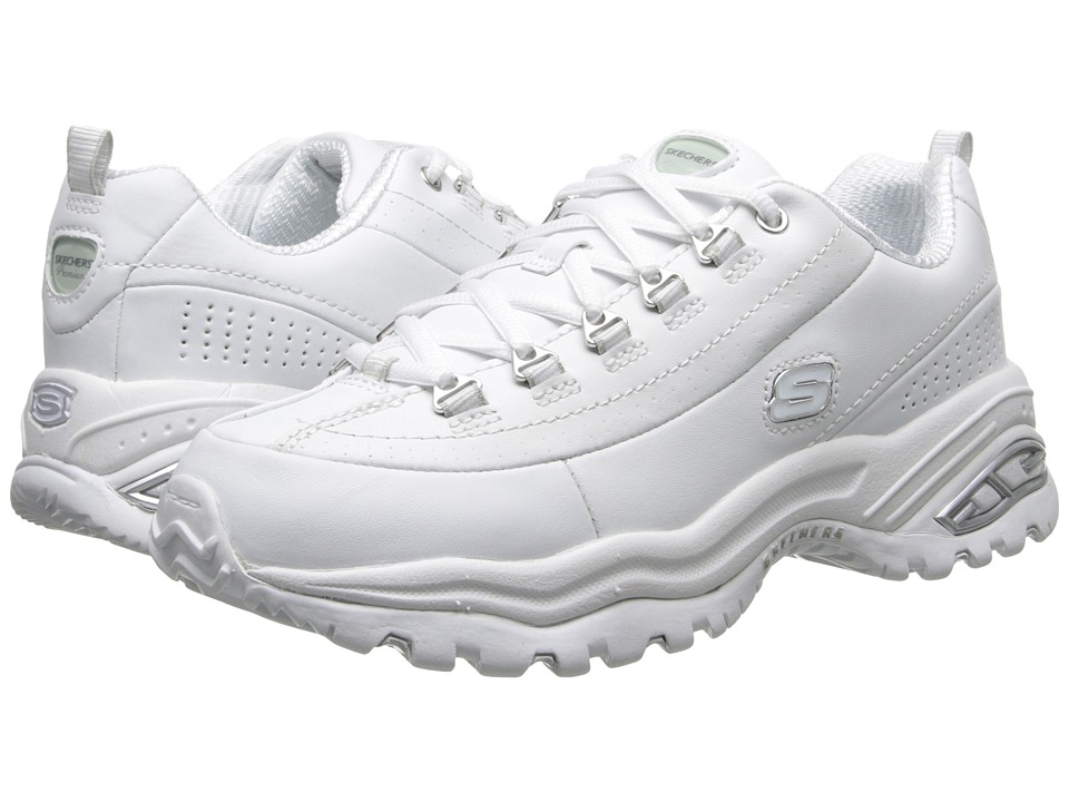 SKECHERS - Premiums (White) Womens Lace up casual Shoes