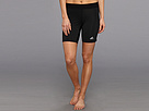 adidas - TECHFIT 7 Boy Short (Black) - Apparel