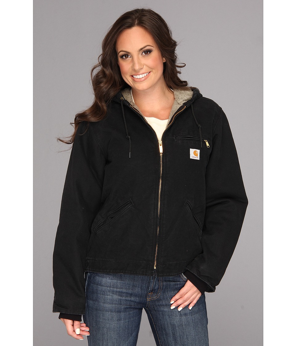 Carhartt Sandstone Sierra Jacket (Black) Women's Jacket