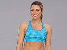 adidas - TECHFIT Bra - Stronger (Solar Blue/Glow Orange)