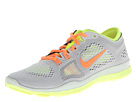 Nike - Free 5.0 TR Fit 4 (Light Base Grey/Atomic Orange/Medium Base Grey/Volt)