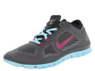 Nike - Free 5.0 TR Fit 4 (Dark Base Grey/Black/Glacier Ice/Bright Magenta)