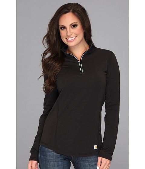 Carhartt Force Quarter Zip Shirt - Black