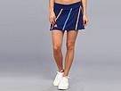 adidas - Roland Garros On-Court Skort (Night Blue/Glow Orange/Solar Blue)