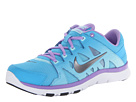 Nike - Flex Supreme TR II (Vivid Blue/Glacier Ice/Atomic Violet/Metallic Dark Grey)