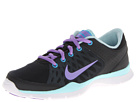 Nike - Flex Trainer 3 (Black/Glacier Ice/Vivid Blue/Atomic Violet)