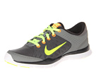Nike - Flex Trainer 3 (Medium Base Grey/Black/Atomic Orange/Volt)