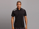adidas - Clima Chill Polo (Black) - Apparel