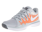 Nike - Zoom Vapor 9.5 Tour (Pure Platinum/Atomic Orange/Wolf Grey/White)