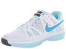 Nike - Air Vapor Advantage (White/Glacier Ice/Pure Platinum/Vivid Blue)