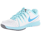 Nike - Vapor Court (White/Glacier Ice/Vivid Blue)