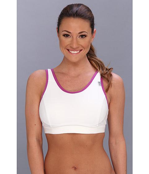 CW-X - Stabilyx Running Bra (White/Purple) Women's Bra