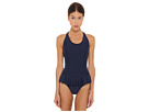 adidas by Stella McCartney - Performance One Piece Swimsuit F50294 (Indigo) - Apparel<br />