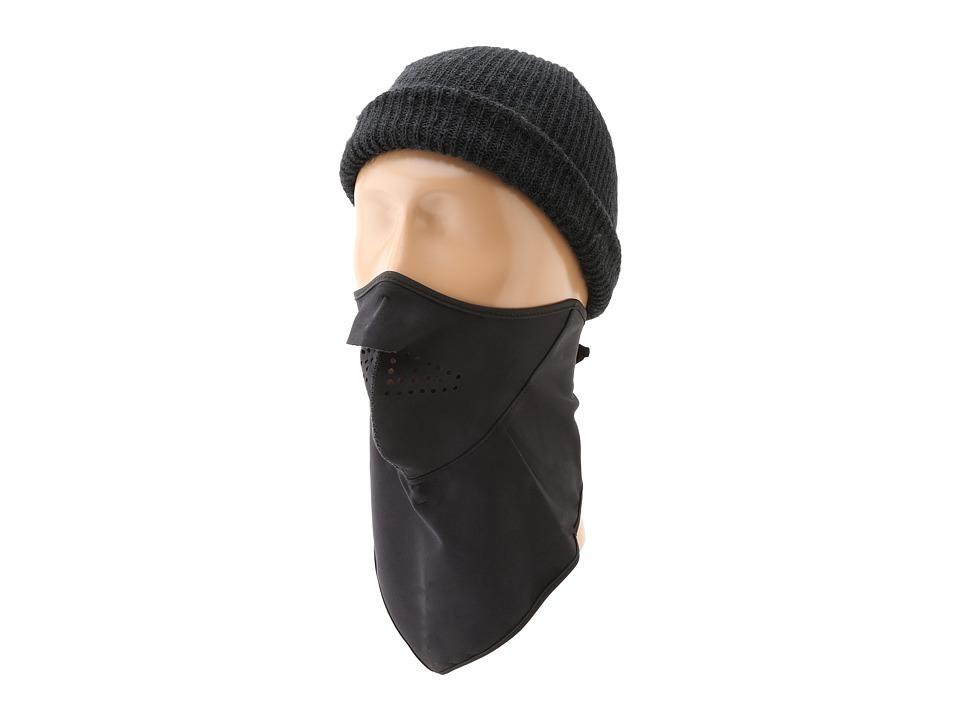 Seirus Softshell Combodana Solid Black Scarves