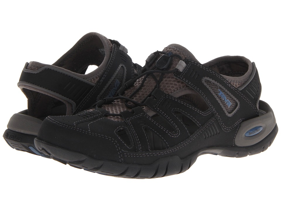 Teva - Abbett (Black) Men's Sandals